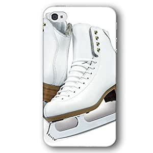 Sports Ice Skating Skates Shoes Diy For Iphone 4/4s Case Cover Slim Phone Case