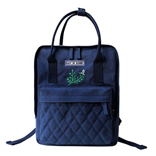 La Sra mochila literaria/bolso de hombro portable/bolso de múltiples funciones del viento universidad-C A