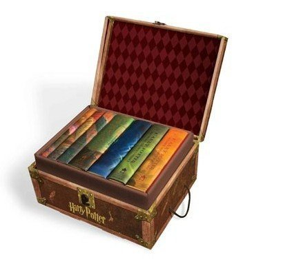 Harry Potter Hardcover Boxed Set: Books #1-7 [With Stickers] by Cosac