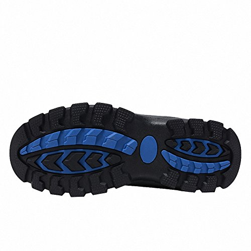 Ben Sports Scarpe da escursionismo Stivali da escursionismo da Uomo,37-46 Grigio