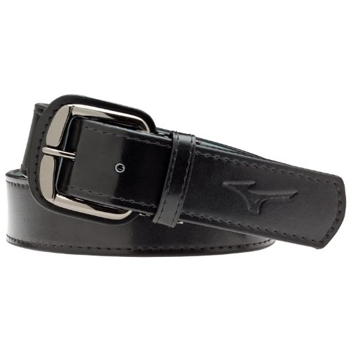 Mizuno Long Classic Belt, Black, (Athletic Classic Belt)