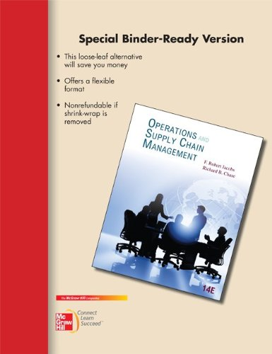 Loose-Leaf Operations and Supply Chain Management 14e