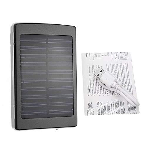CNluca Cargador de batería Externo al Aire Libre del Banco de la energía del Panel Solar 50000mAh para los Smartphones