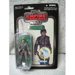 Kenner Luke Skywalker (Star Wars The Empire Strikes Back Luke Skywalker Bespin Fatigues Foil Variant Card 2010 Action Figure)
