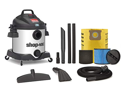 Shop-Vac 8 Gallon Stainless Steel 5.5 Peak HP SS Contractor Wet Dry Vacuum - 5870810