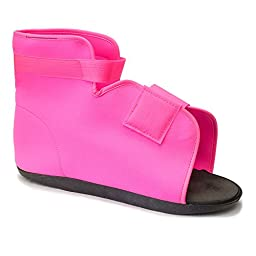 Post-Op Medical Surgical Shoe Cast Boot - Hot Pink