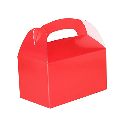 Red Party Treat Boxes (Pack of 12) (Party Treat Boxes)