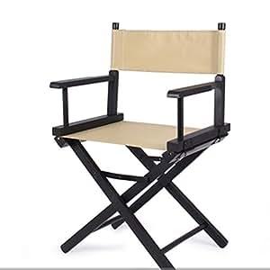 Silla de director al aire libre ocio portátil silla plegable ...