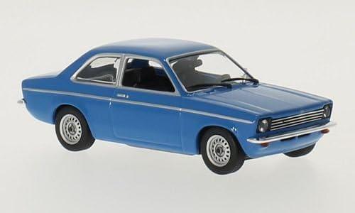 blau 1974 Modellauto Fertigmodell Opel Kadett C Maxichamps 1:43