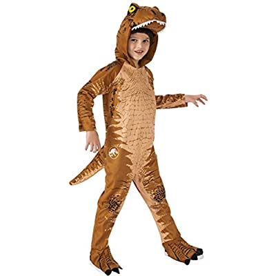 Rubie's Jurassic World: Fallen Kingdom Child's T-Rex Oversized Costume Jumpsuit, Small, Jurassic World: Fallen Kingdom T-Rex Oversized Jumpsuit: Toys & Games