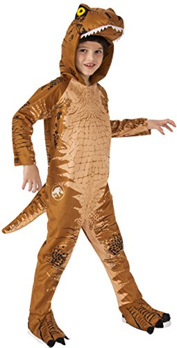 Rubie's Jurassic World: Fallen Kingdom Child's T-Rex Oversized Jumpsuit Costume, Small ()