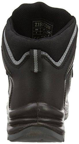 Proteq Sicherheitsschuhe  Zircon S1P - Calzado de protección Unisex adulto Negro (schwarz)