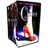 Marissa Meyer Lunar Chronicles Series Collection 4 Books Set- Cinder, Scarlet, Cress, Winter