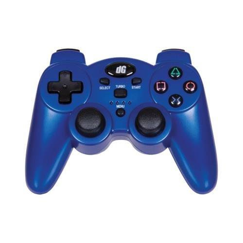 DREAMGEAR - GAMING Dreamgear Dgps3-1391 Playstation(R)3 Radium Wireless Controller (Metallic Blue) (Metallic Blue Ps3 Controller)