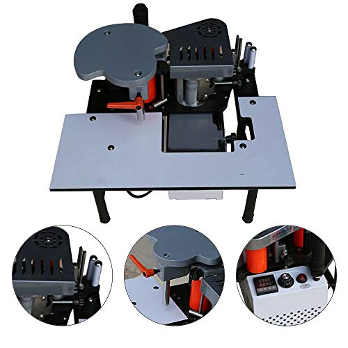 Portable Woodworking Edge Banding Machine Automatic Edge Bander 110V US Shipping