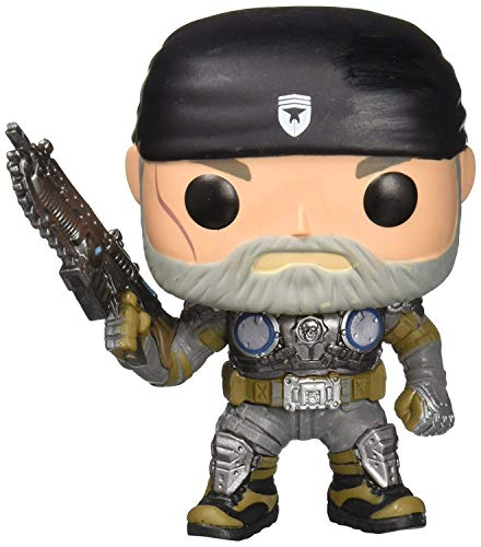 Funko Pop! - Marcus Fenix (Old Man) Figura de Vinilo, seria Gears of War (12188)