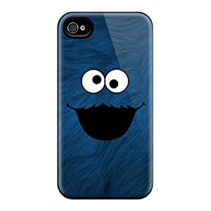 ColtonMorrill Iphone 4/4s Protector Cell-phone Hard Covers Support Personal Customs High Resolution Cookie Monster Pictures [DTq18025GtMe]