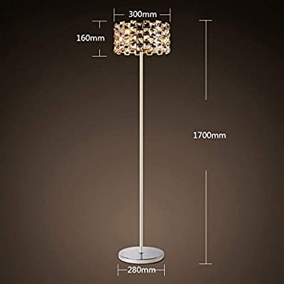 Amazon.com: DEED Floor Lamp-Led European-Style Crystal Floor ...