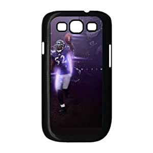 Samsung Galaxy s3 9300 Black Cell Phone Case Baltimore Ravens NFL DIY Protective Phone Case Cover NLYSJHA0620 by kobestar