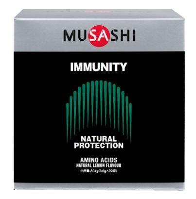 MUSASHI IMMUNITY スティック 3.6g×90本 ムサシ イミュニティ 90袋 B07DP4KHDZ