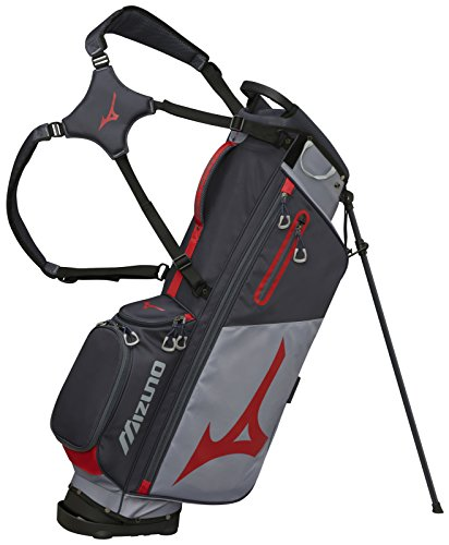 Mizuno 2018 BR-D3 Stand Golf Bag, Grey/Red
