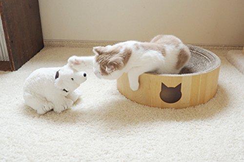Necoichi Cozy Cat Scratcher Bowl (Cat)