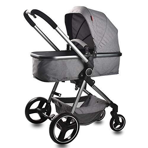 Infant Umbrella Stroller for Toddler Lightweight Stroller Reclining Baby Carriage Strollers