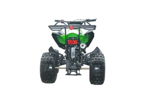 125cc Sports ATV 8'' Tires with Reverse, Green by Coolster (Image #6)