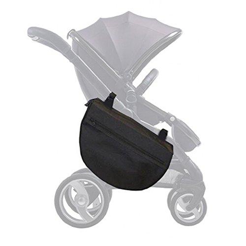 Insulated Stroller Organizer, Side Sling Stroller Saddle Bag, Black