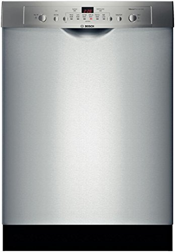 Bosch : SHE3AR75UC 24 Ascenta Series Full Console Dishwasher – Stainless Steel