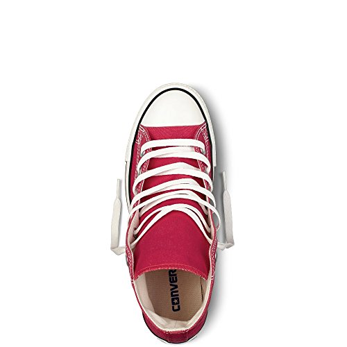 Converse Mens Chuck Taylor All Star High Top Oxfords Rood