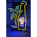 New Larger Corona Extra Bottle Palm Tree Neon Light Sign 20''x16'' H606(No More Long Waiting for WEEKS/MONTHS with Fast Shipping From CA With FREE USPS Priority Mail)