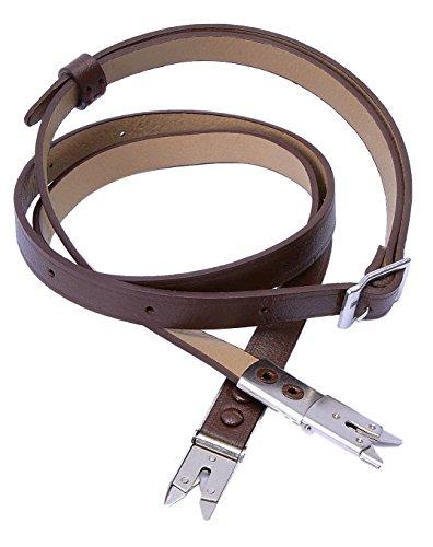 Brown Leather shoulder Neck Strap for Rolleiflex 2.8F 3.5F TLR camera