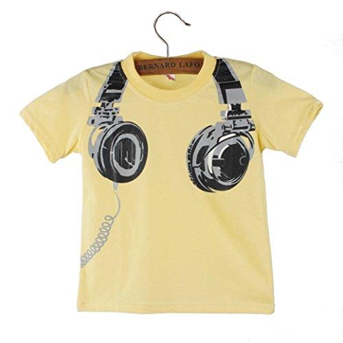 WILLTOO Summer Headphone Blouses Shirt
