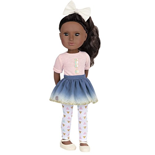 Glitter Girls by Battat - Keltie 14 inch Non Poseable Fashion Doll - Dolls for Girls Age 3 and Up
