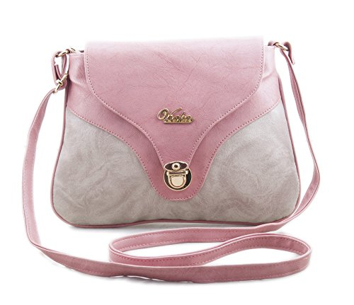 Voaka Women's Pink Sling Bag
