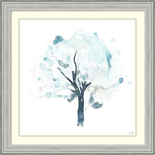 Framed Wall Art Print Liquid Arbor II by June Erica Vess 27.00 x 27.00