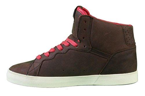 Osiris Skate shoes -- Ground High-- Brown/Red/Cream