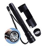 Handheld 80mm Polariscope with Flashlight Jeweler Gemologist Gemstone Tester Tool Optics Dark Field Hastings Loupe Magnifier