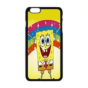 SANLSI SpongeBob Case Cover For iPhone 6 Plus Case
