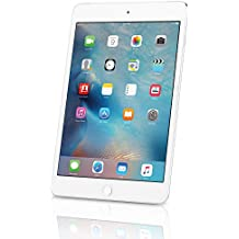 Apple iPad Mini 4, 64GB, Silver - WiFi (Renewed)