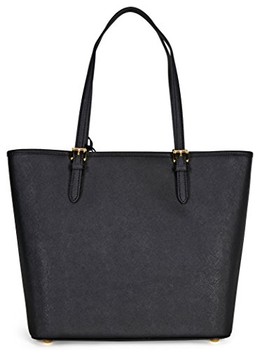 75e0ef93d8c45e MICHAEL Michael Kors Jet Set Large Saffiano Leather Tote, Color Black by  MICHAEL Michael Kors