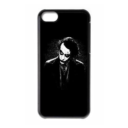 Le cas de téléphone cellulaire 5c Joker de Batman Black White Plus HD XW02CC4 coque iPhone coque R8BK4B2VM
