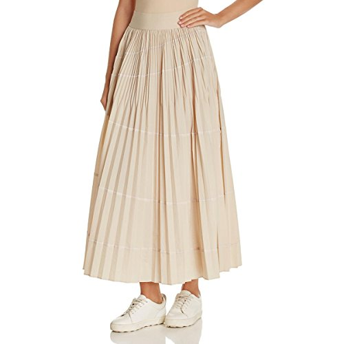 Cheap DKNY Womens Solid Pull On Maxi Skirt