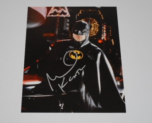 Michael Keaton Batman Costume (Batman Bruce Wayne Michael Keaton Authentic Signed Autographed 8x10 Glossy Photo Loa)