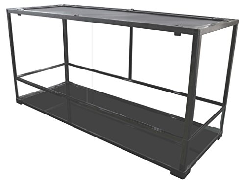 Carolina Custom Cages Terrarium, Tall Extra-Long Deep 48Lx24Dx24H, Easy Assembly (Cage Long)