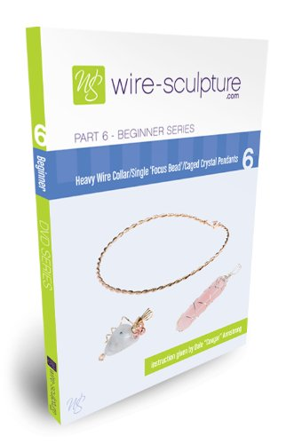 Beginner Series Part 6 - Caged Crystal Pendants/Heavy Wire Collar/Single Focus Bead Pendant (The Wire Season 6 Dvd)