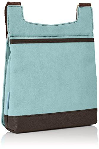 Ecsaine-Borsa a spalla grande, colore: blu cielo
