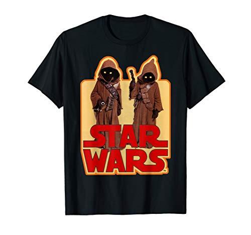 Star Wars Jawas Posing Vintage Sticker Graphic T-Shirt ()