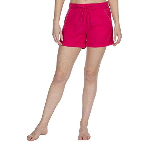 Lino Donna Rosa In Shorts Da Vacanza Pantaloncini Misto Estivi qxfTn6
